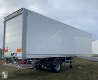 Trouillet plywood box semi-trailer Distribox Mono Essieu directionnel 24 Palettes type City