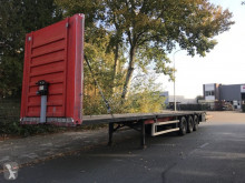 HTF HZCT 12-24 open oplegger met twistlocks semi-trailer used flatbed