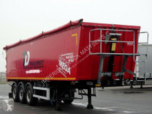 Semirimorchio Mega TIPPER 46 M3 / LIFTED AXLE / FLAP-DOORS / ribaltabile usato