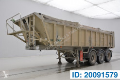 Stas 23 cub in alu semi-trailer used tipper