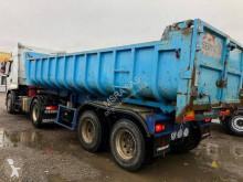 Fruehauf acier semi-trailer used construction dump