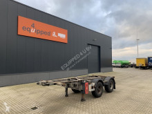 Semirimorchio Van Hool 20FT Chassis, verzinkt, Leergewicht: 2.980kg, BPW usato
