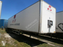Fruehauf plywood box semi-trailer fourgon suspension lame frein tambour