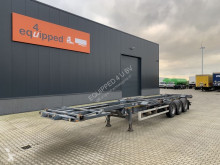 Semiremorca Van Hool 40FT HC + 2x 20FT BDF-frame, SAF+disc, liftaxle transport containere second-hand