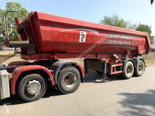 Kögel tipper semi-trailer 2-AS HALF PIPE KIPPER - STEEL BUCKET - STEEL CHASSIS - HYDR ACHTERKLEP / VALVE - AIR SUSPENSION - CLEAN