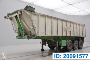 Stas 25 cub in alu semi-trailer used tipper
