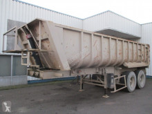 Semitrailer flak Fruehauf K960650 , tipper trailer , 2 SMB axles , 4 tyres , spring suspension