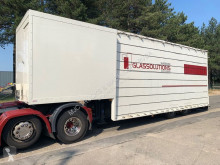 Semi remorque porte engins Royen GLAS TRANSPORT dieplader / WINDOW TRANSPORT lowloader / GLAS TRANSPORTER / TRANSPORT DE VERRE porte engin / TRANSPORTE VENTANAS