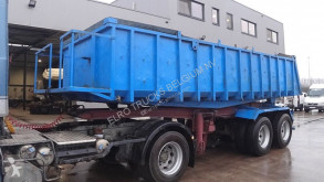 Semi remorque benne Zremb STEEL SUSPENSION / 8 TIRES /CHASSIS & TIPPER FROM STEEL)