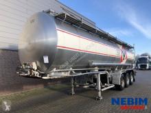 Burg B.P.O, 12 24 Z - INOX 29.065L - 3 COMP. semi-trailer used tanker