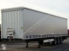Krone CURTAINSIDER /STANDARD/ LIFTED AXLE / XL CERT semi-trailer used tarp