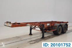 Trailer Fruehauf Skelet 20 ft tweedehands containersysteem