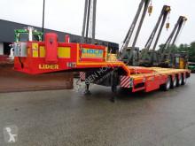 Lider LD 07 Low Loader 80 Ton semi-trailer used flatbed