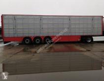 Sættevogn anhænger til dyretransport Pezzaioli SBA63