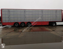 Pezzaioli SBA63 semi-trailer used livestock trailer