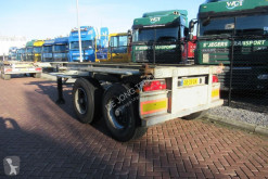 Trailer Pacton Container Chassis / 20FT / Steel Suspension BPW + DRUM tweedehands containersysteem
