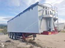 Semitrailer Benalu flak spannmål begagnad
