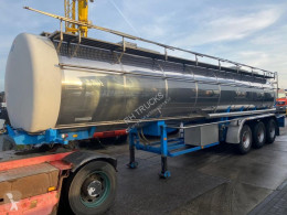 Dijkstra 3 AS + TANK 24500 LITER semi-trailer used tanker