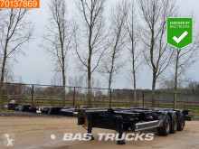 Semi remorque porte containers Cimc SC03 20-30-40 Ft. Extendable Multifunctional Chassis Liftachse