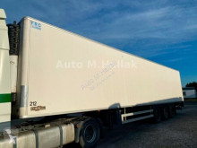 Chereau Tiefkühlkoffer Carrier Maxima 1300 LBW Liftachse semi-trailer used insulated