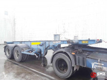 Trailer Asca Oplegger lames/steel tweedehands containersysteem