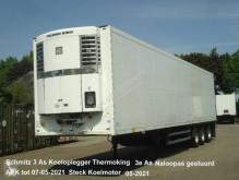 Semi remorque Schmitz Cargobull SK024 Schmitz 3 As Koeloplegger Thermoking SL2 50 + Naloopas gestuurd frigo occasion
