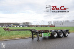 Trailer Renders EURO 800 - LIFT AXLE - BPW AXLES - DRUM BRAKES - 2 x EXTENDABLE - tweedehands containersysteem