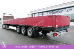 Krone dropside flatbed semi-trailer SDP 27 / BAUSTOFF / RUNGENT. / DC scheibe