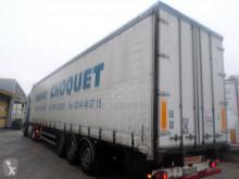 Fruehauf TX34CS semi-trailer damaged tautliner