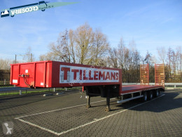 Netam OZPK-39-327 semi-trailer used heavy equipment transport