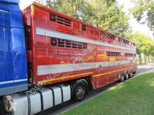 Pezzaioli SBA 32 semi-trailer used cattle