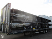 LAG flatbed semi-trailer 5 Stack of Mega Trailers , 3 BPW Axles , 2 Driving positions , Drum Brakes , Air Suspension