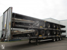 Semi remorque plateau LAG 5 stack Mega Trailers , 3 BPW Axles , 2 Driving Positions , Drum Brakes , Air Suspension