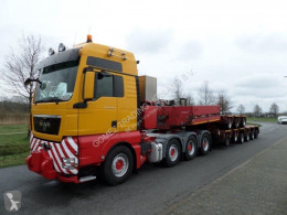 Goldhofer THP-LTSO 3+3+3 + S-THP 35T Gooseneck semi-trailer used heavy equipment transport