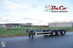 Trailer containersysteem Netam OSCCR 39 327 - ADR - DRUM BRAKES - CENTRAL LUBRICATION -