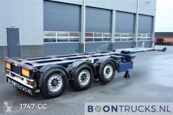 Broshuis container semi-trailer 3UCC-39/45 | 2x20-30-40-45ft * DISC BRAKES * MULTI CHASSIS