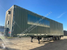 Lecitrailer Clothes transport box semi-trailer furgon paquetero & textil