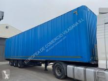 Schmitz Cargobull furgon paquetero & textil semi-trailer used Clothes transport box