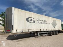 Montull chasis aluminio semi-trailer used tautliner