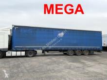 Sættevogn palletransport Kögel Mega 3 m Innenhöhe 3 Achs Planenauflieger