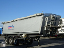 Schmitz Cargobull tarp semi-trailer TIPEPR 34 M3 / SAF / LIFTED AXLE / PERFECT CONDI