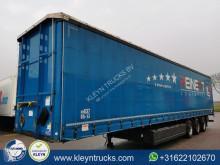 Dinkel tautliner semi-trailer SCHIEBEPLANE GABELST kooiaap aansluiting
