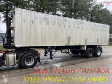 Naczepa Kaiser 50m³ VOLUME KIPPER / BENNE GRAND VOLUME --- STEEL SPRING / SUSP. LAMES / BLATT --- STEEL CHASSIS ALU BOX / STAHL CHASSI ALU KIPP wywrotka używana