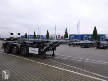 Krone Box Liner SDC 27 eLTU6 semi-trailer used chassis