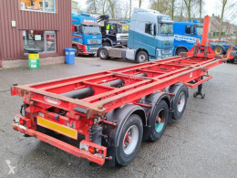 Container semi-trailer KIEPCHASSIS 20/30FT TIPPER 3-assen SAF (O490)
