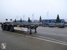 Návěs Krone Box Liner SDC 27 eLTU4 podvozek použitý