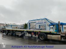 ES-GE Auflieger Plattform 3.VOU-18-27.1N-LG ausziehbar semi-trailer used flatbed