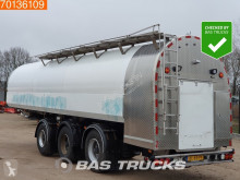 Lako Jansky 35.000 Litr / 1 / Milk Pump + Counter 2x Lenkachse Liftachse semi-trailer used food tanker
