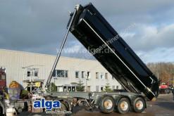 Semi remorque benne Bruns BBKraft, Stahl, 25m³, wie neu, Alu-Felgen