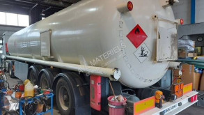 Schrader semi-trailer used oil/fuel tanker